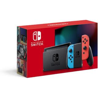 ニンテンドースイッチ(Nintendo Switch)のNintendo Switch 本体 (ニンテンドースイッチ) ネオンレッド(携帯用ゲーム機本体)