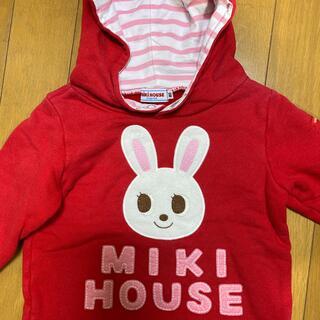 mikihouse - ミキハウス パーカー