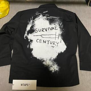 ダブルタップス(W)taps)のWTAPSダブルタップスJUNGLEシャツジャケットサイズS新品MODULAR(ミリタリージャケット)