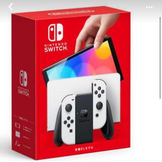 ニンテンドースイッチ(Nintendo Switch)の(最安値)ニンテンドー スイッチ 有機ELモデル  ホワイト(家庭用ゲーム機本体)