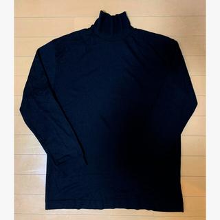 コモリ(COMOLI)のgicipi ウールシルク モックネックセーター(ニット/セーター)