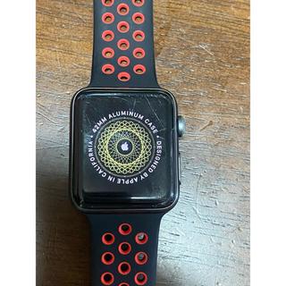 Apple Watch - APPLE WATCH3 NIKE+ 42mm 【本体+汎用バンド】外箱あり