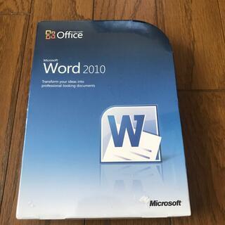 マイクロソフト(Microsoft)のMicrosoft Word2010(PC周辺機器)