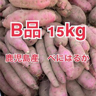 鹿児島県産 べにはるか 紅はるか 15kg B品 サツマイモ さつまいも(野菜)
