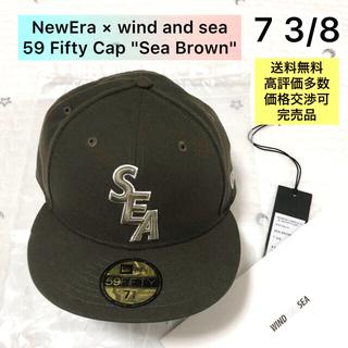 Supreme - New Era × wind and sea 59Fifty Cap 7 3/8