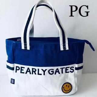 PEARLY GATES - PEARLY GATESカードバッグ30周年ブルー青白ホワイト