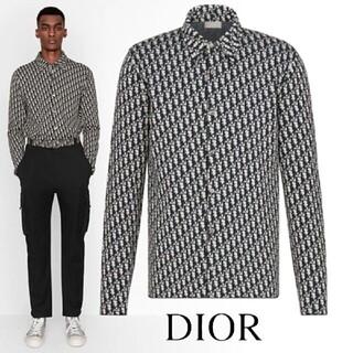 Dior - Dior オブリーク コットンニット オーバーサイズシャツ
