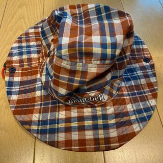 モンベル(mont bell)の帽子(登山用品)