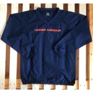 アンダーアーマー(UNDER ARMOUR)のUNDER ARMOUR Vジャン ウインドブレーカー YXL(ジャケット/上着)