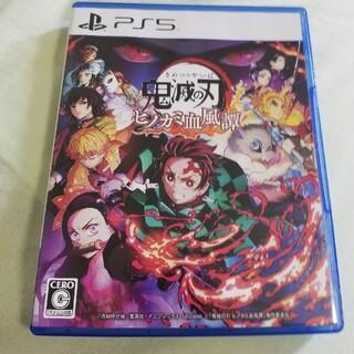 鬼滅の刃 ヒノカミ血風譚 PS5(家庭用ゲームソフト)