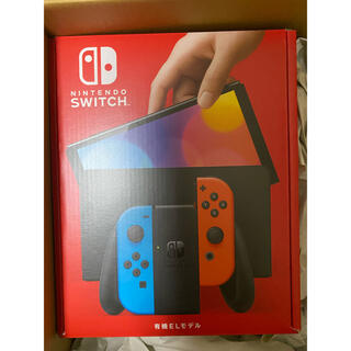 ニンテンドースイッチ(Nintendo Switch)のNintendo Switch (有機ELモデル) ネオンブルー・ネオンレッド(携帯用ゲーム機本体)