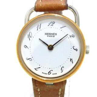 エルメス(Hermes)のエルメス 腕時計 アルソー レディース 白(腕時計)