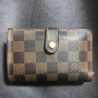 LOUIS VUITTON - ダミエ 二つ折り財布