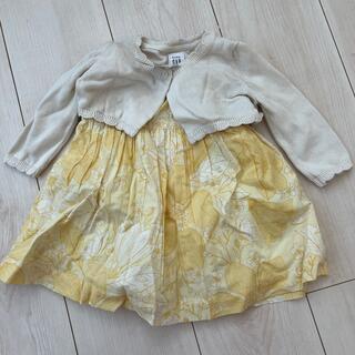 ベビーギャップ(babyGAP)のベビーギャップ babyGAP 女の子 ワンピース 秋冬服 60cm(ワンピース)