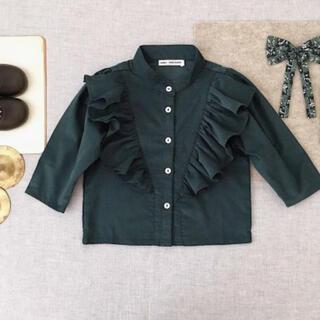 Caramel baby&child  -  EDNA Blouse , Evergreen corduroy