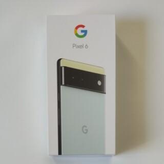 Google Pixel - Google Pixel 6 新品 8GB/256GB  Sorta Seafo