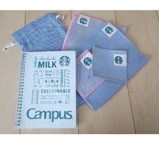 Starbucks Coffee - スターバックス ☆コースター ランチョンマットとコースター、ノート☆新品