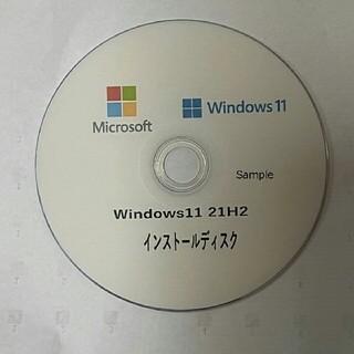 マイクロソフト(Microsoft)のWindows11Home 21アップグレードDVD プロダクトキー付(PC周辺機器)