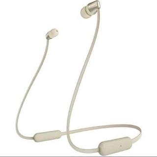SONY - SONYワイヤレスイヤホン WI-C310 ゴールド