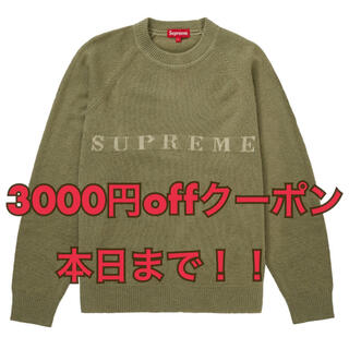 Supreme - Supreme Stone Washed Sweater L ニット セーター