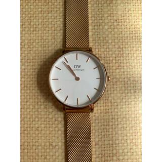ダニエルウェリントン(Daniel Wellington)の腕時計 レディース ・ダニエルウェリントン ローズゴールド 32㎜(腕時計)
