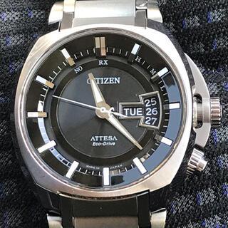 シチズン(CITIZEN)のCITIZENアテッサエコドライブ電波時計 ATD53-3001 (腕時計(アナログ))