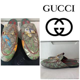 Gucci - GUCCI GG柄 ホースビット サンダル