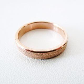 【ゆき様専用】ピンクゴールドリング 10号(リング(指輪))