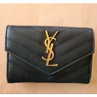 Yves Saint Laurent Beaute - イヴ・サンローラン YSL 折り財布 カードケース 黒