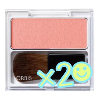 オルビス(ORBIS)の【新品】オルビス ナチュラルフィットチーク ライトピンク×2(チーク)