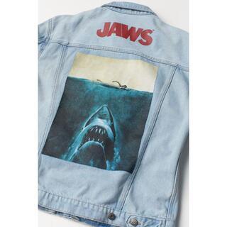 エイチアンドエム(H&M)のH&M Gジャン JAWS メンズL(XL)サイズ(Gジャン/デニムジャケット)