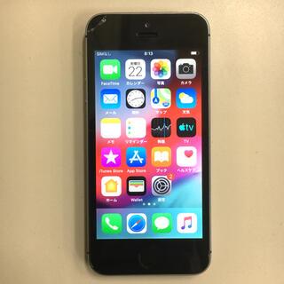 iPhone5s 32GB 完動品 ソフトバンク スペースグレイ(スマートフォン本体)