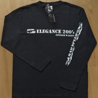 【新品Mサイズ】趣味Tシャツ ハイエース好き 長袖 ブラック 200系HIACE