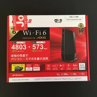 Buffalo - BUFFALO Wi-Fiルーター WSR-5400AX6S-MB