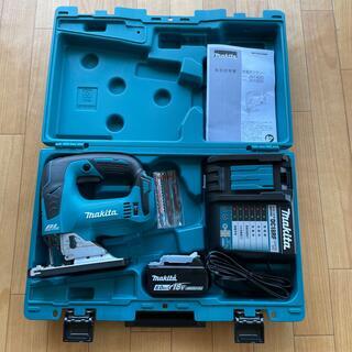マキタ(Makita)のマキタ充電式ジグソー18VJV 182D バッテリ 急速充電機セット(工具/メンテナンス)
