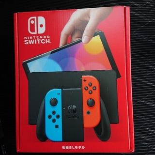 ニンテンドースイッチ(Nintendo Switch)のNintendo Switch 有機ELモデル ネオンブルー・ネオンレッド(家庭用ゲーム機本体)