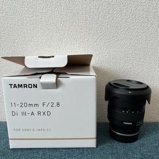 TAMRON - 新品同様 タムロン 11-20mm F/2.8 Di Ⅲ-A RXD B060