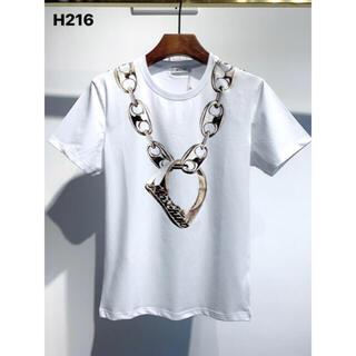 MOSCHINO - MOSCHINO  H216   メンズTシャツ M-3XLサイズ選択