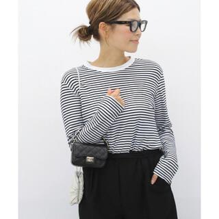 DEUXIEME CLASSE - Deuxieme Classe COCO Stripe Tシャツ No5