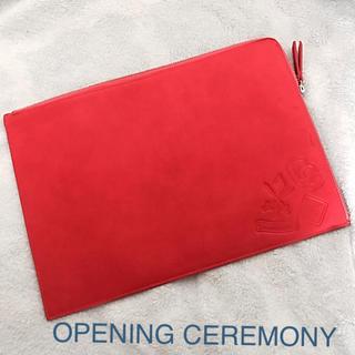 オープニングセレモニー(OPENING CEREMONY)の新品未使用 オープニングセレモニー クラッチ バック(クラッチバッグ)