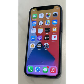 Apple - iPhone12 mini 128GB ブルー SIMフリー SIMロック解除済