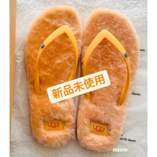 UGG - 【クーポン期間価格】UGG フラッフィー 新品未使用 オレンジ