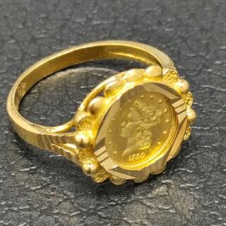☆K22 リング 10号 コイン 指輪