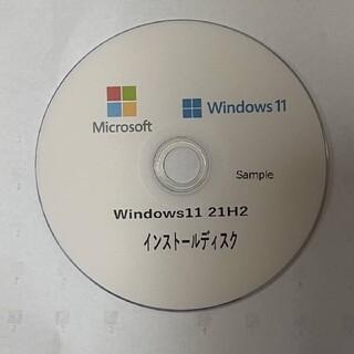 マイクロソフト(Microsoft)のWindows11Pro 21アップグレードDVD プロダクトキー付(PC周辺機器)