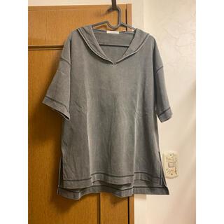 ニコアンド(niko and...)のniko and ... セーラーカラーピグメントTシャツ ニコアンド(Tシャツ(半袖/袖なし))