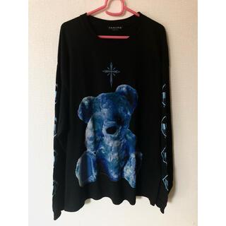 TRAVAS TOKYO クマ 熊 ロンT 長袖 Tシャツ milkboy