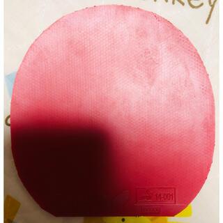 バタフライ(BUTTERFLY)の卓球ラバー テナジー 05 赤 特厚(卓球)