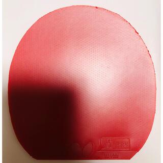バタフライ(BUTTERFLY)の卓球ラバー ディグニクス80 赤 特厚(卓球)