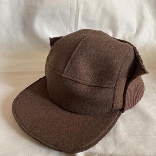 SUNSEA - 20aw SUNSEA サンシー メルトン キャスケット 帽子 キャップ