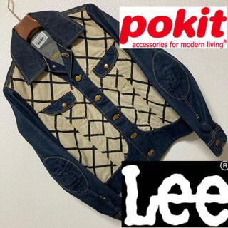 pokit - 良品◆pokit Lee ポキット リー◆コラボ 和柄 異素材 デニムジャケット
